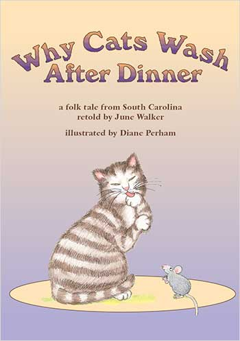 Why Cats Wash after Dinner