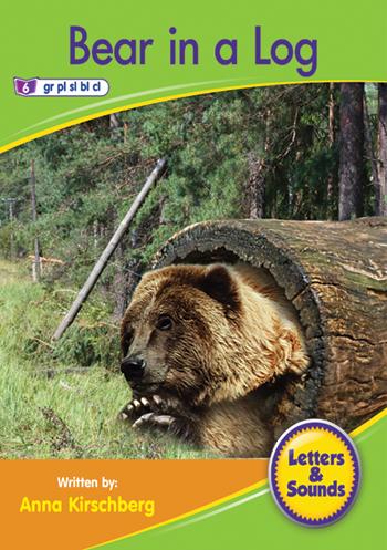 Bear in a Log